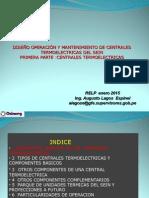 A Presentaciu00F3n Diseu00F1o, Operac y Mto Centrales Tu00E9rmicas Rev 2015