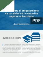 Politica universitaria investigación