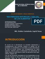 BACTERICIDAS NATURALES
