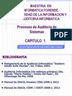 Procesos de Auditoría de Sistemas