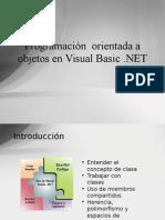 01 Programacion Orientada a Objetos en Visual Basic .NET