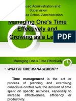 Advanced Administration and Supervision Ppt