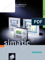 Plc y Panel Siemens c7
