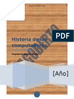 Historia de Las Computadoras(1)DagobertoG