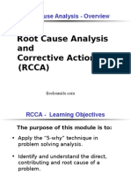RCCA - Overview