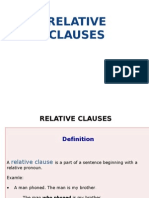 Relative Clauses Lesson