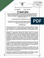 DECRETO 539 de 2014 importadores y exportadores de alimentos.pdf