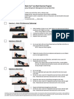 10 Basic Low Back Exercises