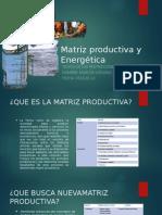 Matriz Productiva y Energética