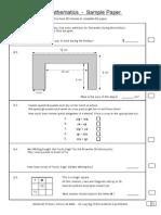 11+MathsPaper
