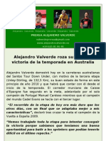 Nota de Prensa Alejandro Valverde (21!01!10)