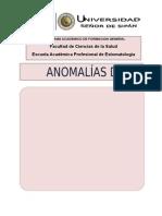 MONOGRAFÍA ANOMALÍAS DENTALES
