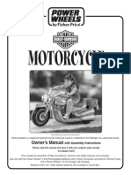 Powerwheels Harley Davidson Manual