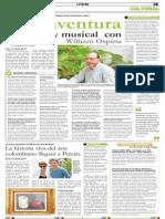 Periodismo Cultural 8 Febrero 2015 María Paz Gomez