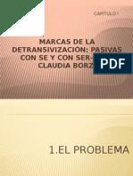 Marcas de La Detransivización Pasivas Con Se y Con Ser- Dra. Claudia Borzi - Copia