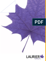 Laurier Convocation Fall2014 Program
