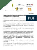 Comunicado Seminario Tortura España