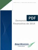 Demonstra??es Financeiras Anuais Completas de 2014