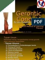 1. Gerontic Concept
