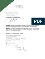 Informe deParacetamol
