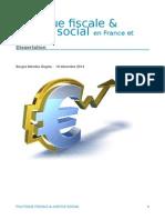 Politique fiscale et justice social en France et ailleurs