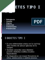 Diabetes Tipo I y II