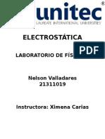 lab de  ELECTROSTÁTICA.docx