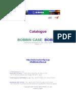 TOWA Bobbin case Catalogue