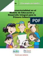 Manual de Intersectorialidad