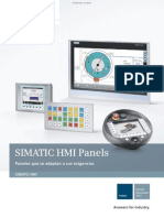 Operator Panels y Touch Panels Simatic