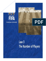 Law 3 the Number of Players en 47419