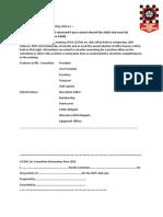 Proxy Vote Nomination Form 2015