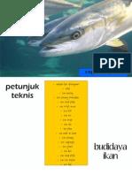 Petunjuk Teknis Budidaya Beberapa Komoditi Perikanan by copyleftagh44