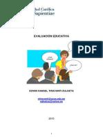 La Evaluación de Los Aprendizajes en La Escuela Ccesa015