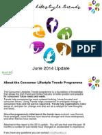 Consumer Lifestyle Trends  June 2014