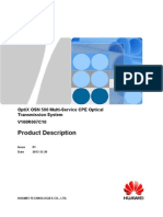 Huawei OptiX OSN 500 Product Description(V100R007)