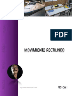 MRU (Movimiento Rectilíneo Uniforme)
