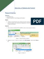 Ejercicio 1 Control Design and Simulation