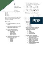 Chemistry Paper 1 2009