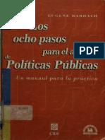 Los Ocho Pasos Para El Análisis de Políticas Públicas; Bardach, E.