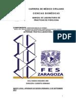 FES -ZARaragoza Manual Morfologia Fisiologia Sistemas 2013