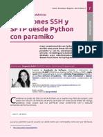 Conexiones SSH y SFTP desde Python