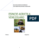 El Espacio Agrícola de Venezuela
