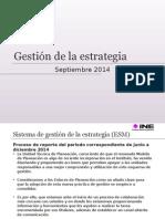 Presentación de La Gestión de La Estrategia_9sep14