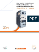 Catalogo Gama Mcset de 1 a 24 Kv Distribucion Primaria