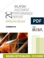 Malaysia Investment Performance Report 2013