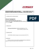 Acido Sulfurico Al 37 Para El Llenado de Baterias Secas AD y Elite