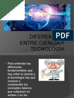 Exposicion Dif. Entre Ciencia y Tec.