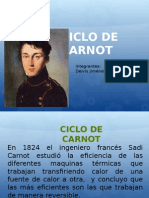 Ciclo de Carnot (Diapositiva)