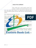 Eastern Bank Analysis